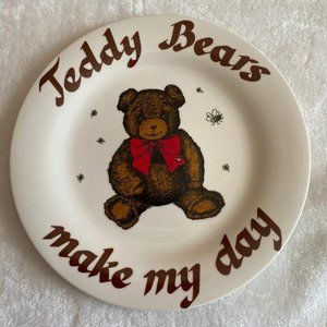 Teddy Bear Collector Plate 1984